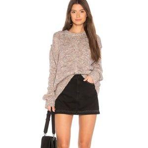 JOHN + JENN Fairy Dust Chunky Sweater NWT $149 S